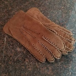 Accessories - Faux Shearlimg Lined Gloves